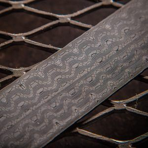 Reptilian Damascus Patterns