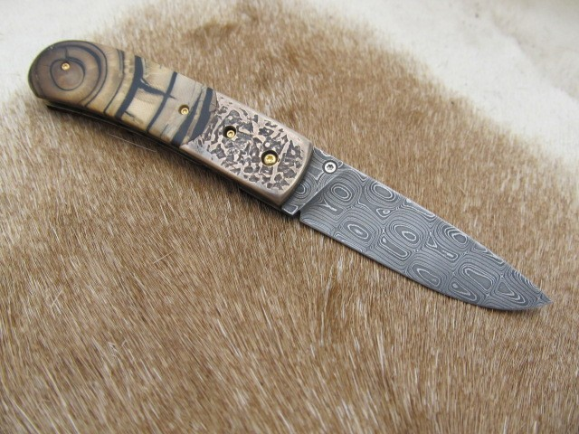 Damascus Patterns - From Billet to Finished Product