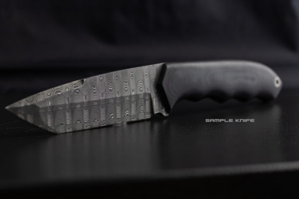 Basketweave Vegas Forge Damascus Stainless