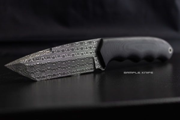 Reptilian Vegas Forge Damascus Stainless