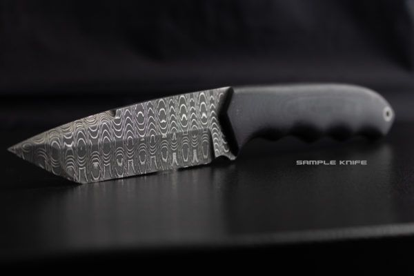 Sharktooth Vegas Forge Damascus Stainless